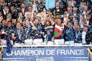 aviron bayonnais champion de france D2