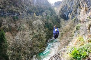 tyroliennes Laruns aventures
