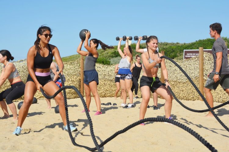 go-west-beach-camp-anglet-cours-plage