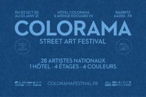 Festival street art Colorama Biarritz