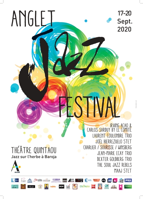 Anglet jazz festival affiche