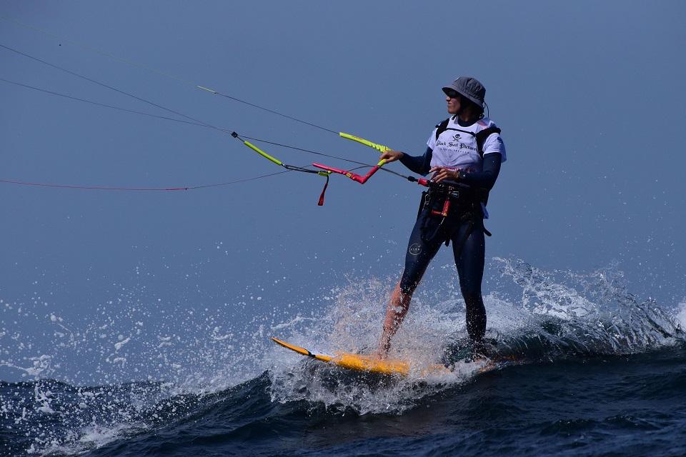 Doris Wetzel -kitesurf