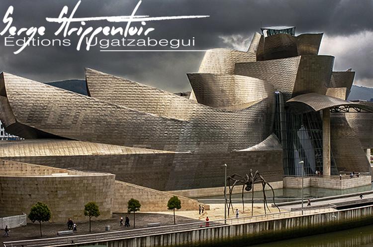 Le musée Guggenheim de Bilbao par Serge Strippentoir