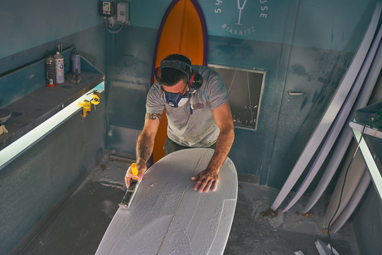 Terry Surfboards Shapers planche pays basque biarritz