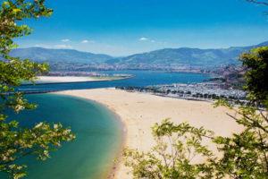 Illustration paysage hondarribia pays basque