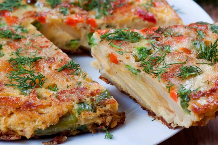 Recette de tortilla