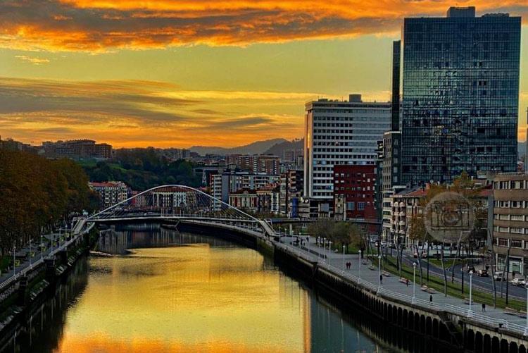 Vue sur Bilbao Pays Basque
