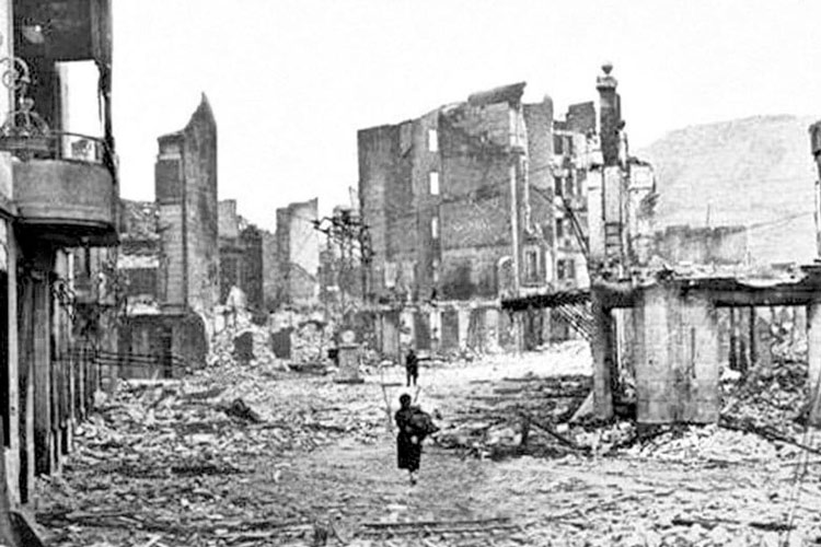 Bombardement 1937