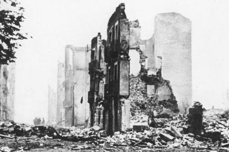 Guernica Bombardement 1937