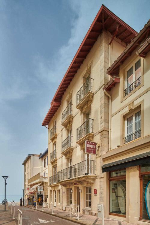 hotel-georges-VI-biarritz-facade