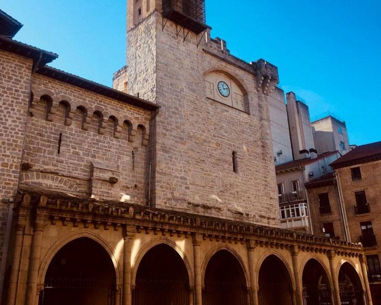 Eglise de San Nicolas Pampelune à visiter