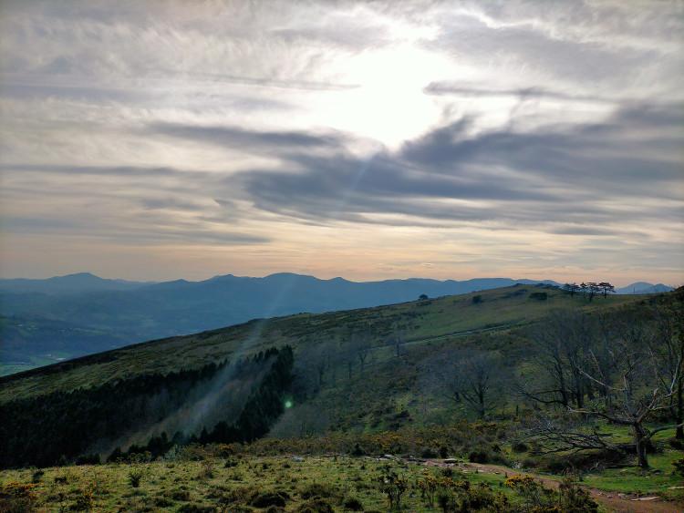 paysages du Pays Basque observés lors d'une balade de Hey Ma Trott