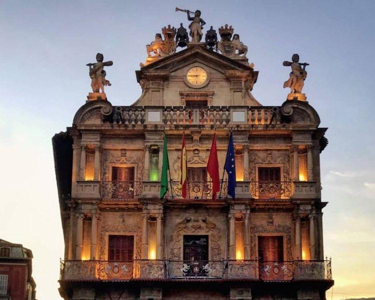 Hôtel de ville Pampelune