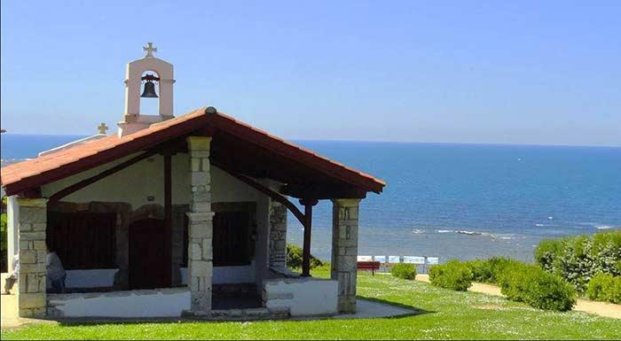 Bidart chapelle pays basque