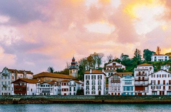 Vue Ciboure Vacances Pays Basque