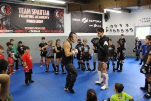 MMA-FACTORY-TEAM-SILENCER-ENFANTS Urugne Pays Basque
