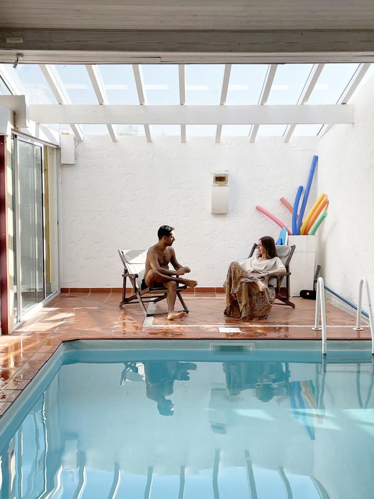 piscine de la villa Outsite Bidart