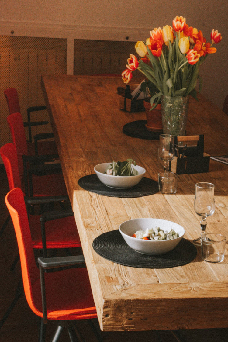 table à manger de la villa Outsite Bidart