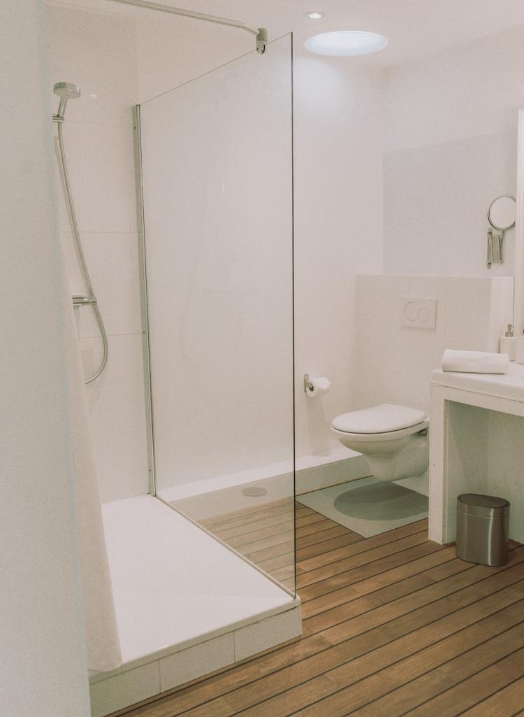 Salle de bains de la villa Outsite Bidart