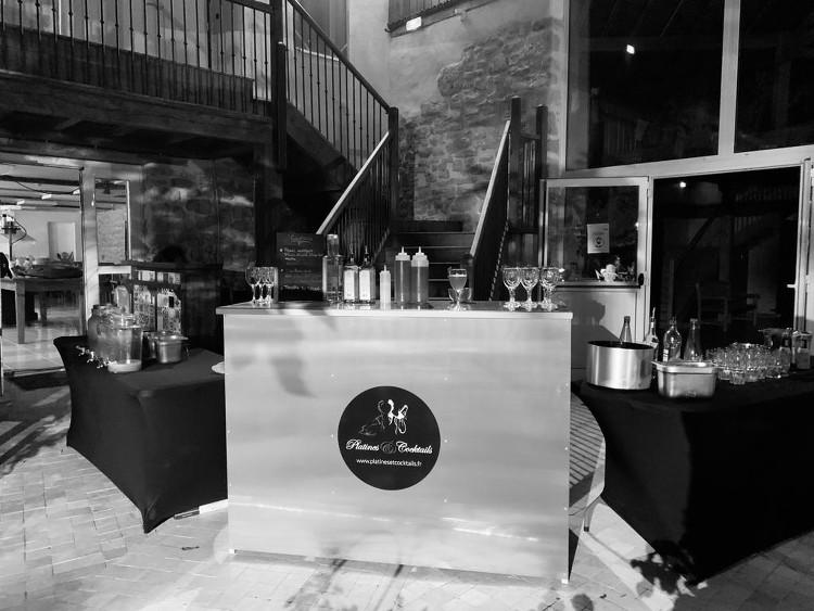 bar mobile de Platines et Cocktails