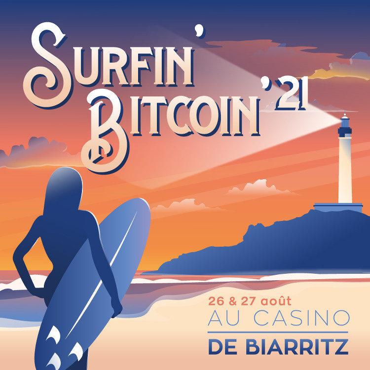 visuel du Surfin' Bitcoin 2021