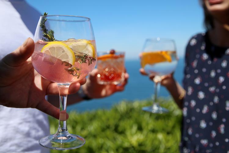 Olatua Biarritz vin cocktail