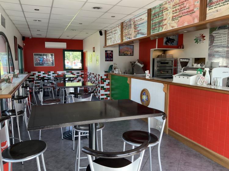 intérieur du restaurant Pizza Giorgio