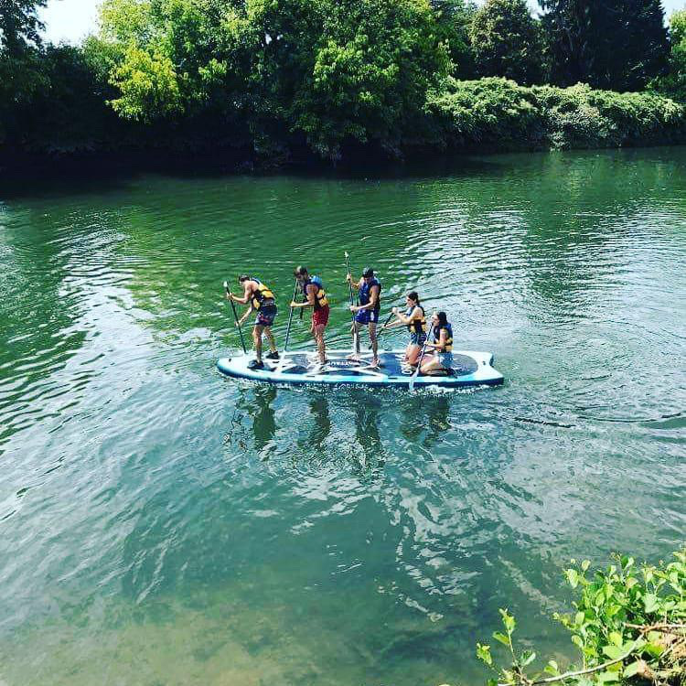 Giant paddle de Nature Avent'ura 64
