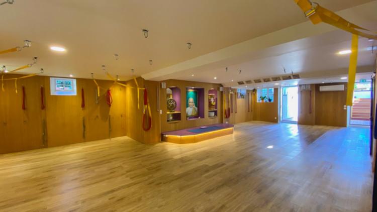 salle de yoga de la Villa Ajna Yoga