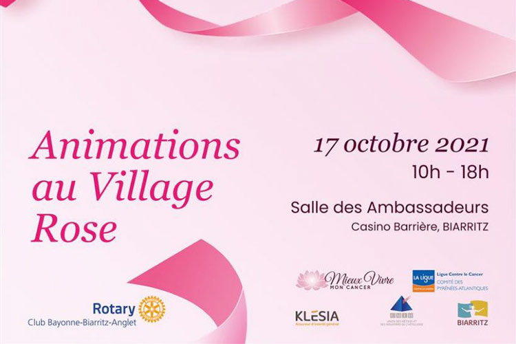 Brunch et animations village rose biarritz