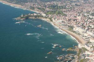 Découvrir le pays basque en hélicoptère