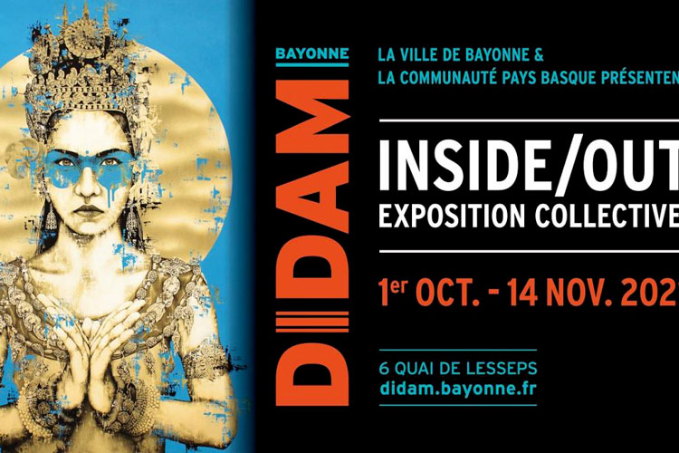 Exposition inside out à Bayonne