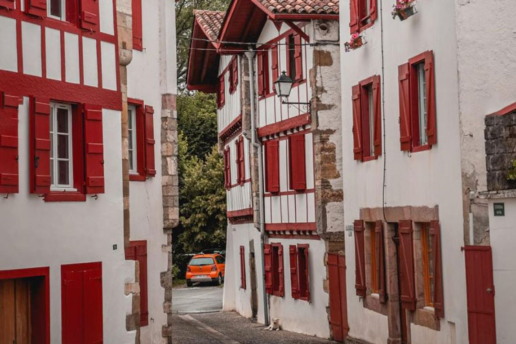 Espelette - idées balades à vélo Pays Basque